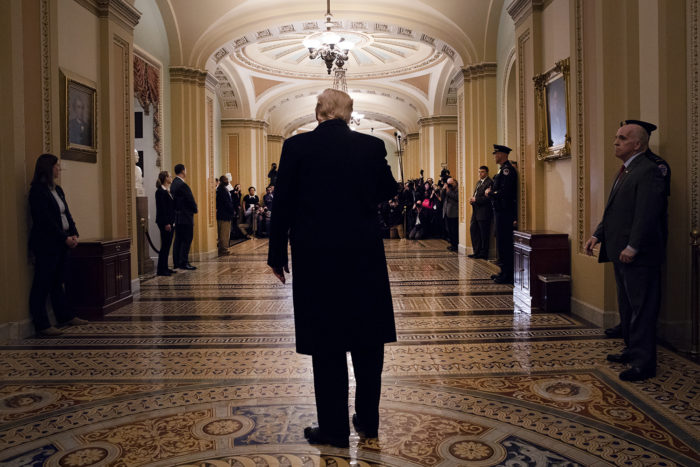 Trump at the Capitol in March 2019 (White House Photo)