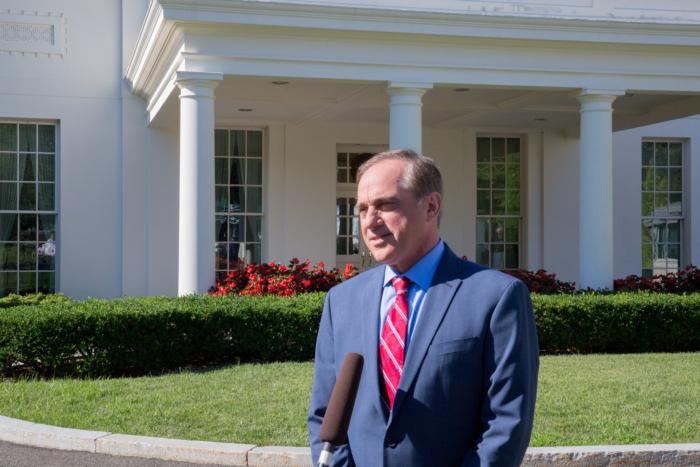 Former VA Secretary David Shulkin