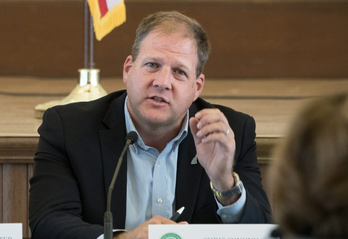 New Hampshire Gov. Chris Sununu in 2017