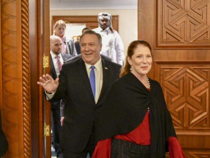 Mike and Susan Pompeo in January 2019