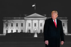 Trump and White House