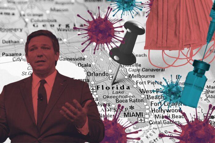 La propagación de la pandemia en Florida