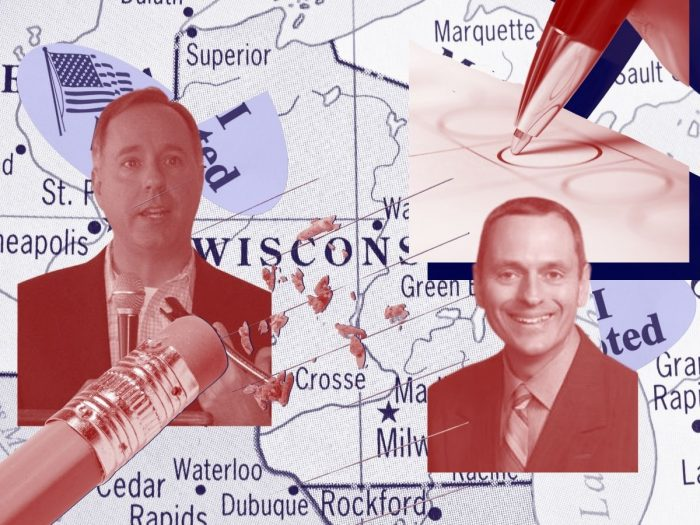 Wisconsin Assembly Speaker Robin Vos and State Rep. Joe Sanfelippo